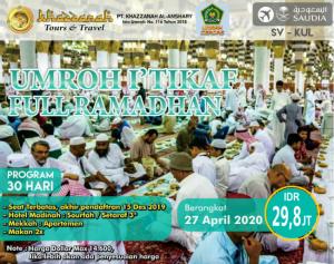 Paket Umroh Full Ramadhan 2020