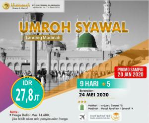 Paket Umroh Syawal 2020